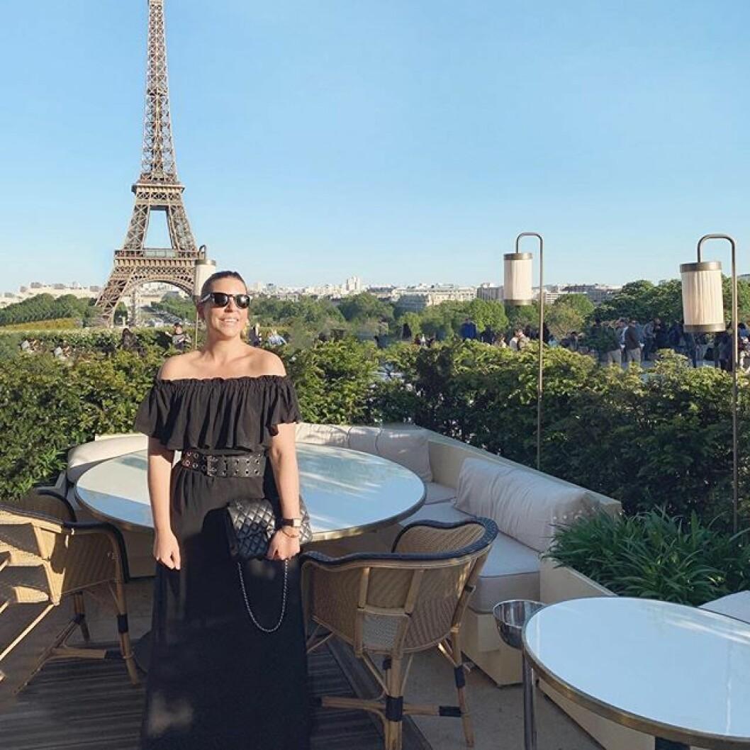 Restaurangtips! Boka bord på Girafe med magisk utsikt över Eiffeltornet.