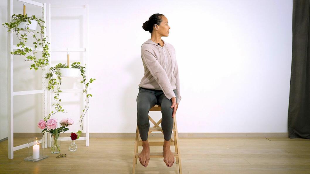 Yoga med Johanna – ryggtwist