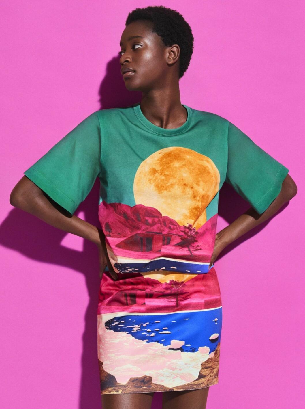 tröja och kjol H&M Studio SS20