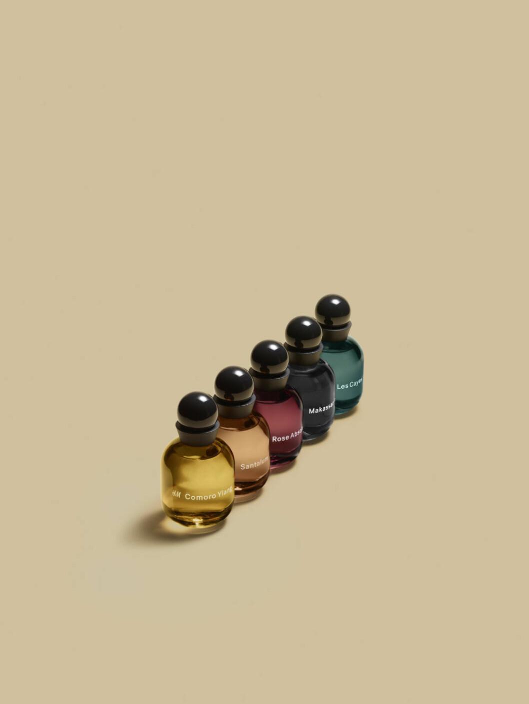 Den tredje parfymkategorin är The essences
