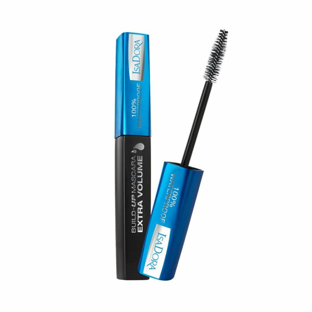 Isadoras Build up extra volume mascara waterproof.