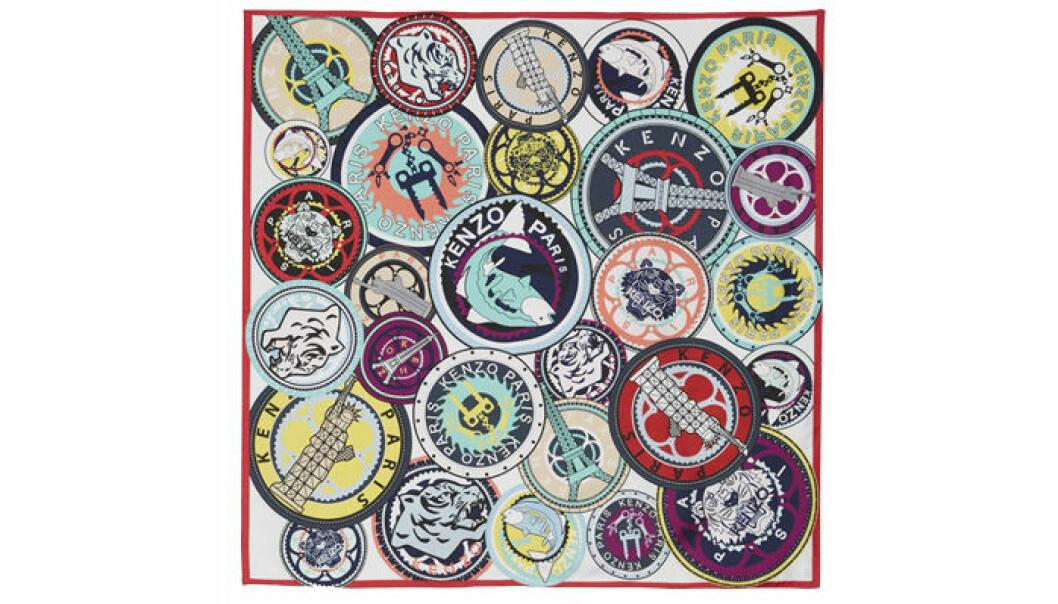 7. Scarf, 1629 kr, Kenzo