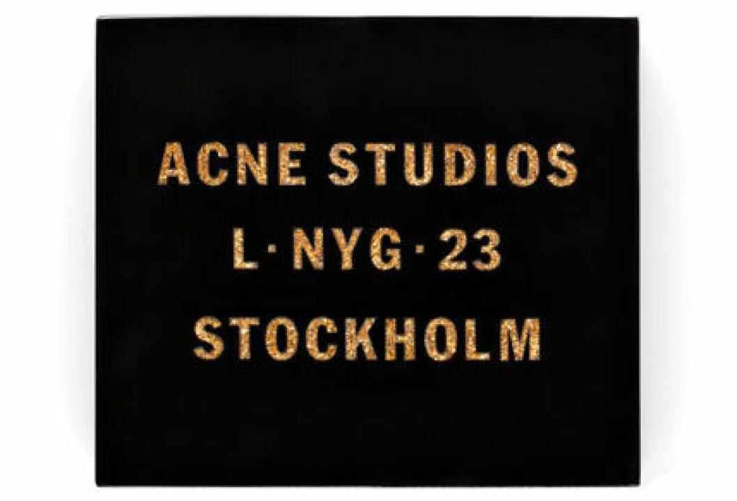 7. Väska, 4 995 kr, Acne studios