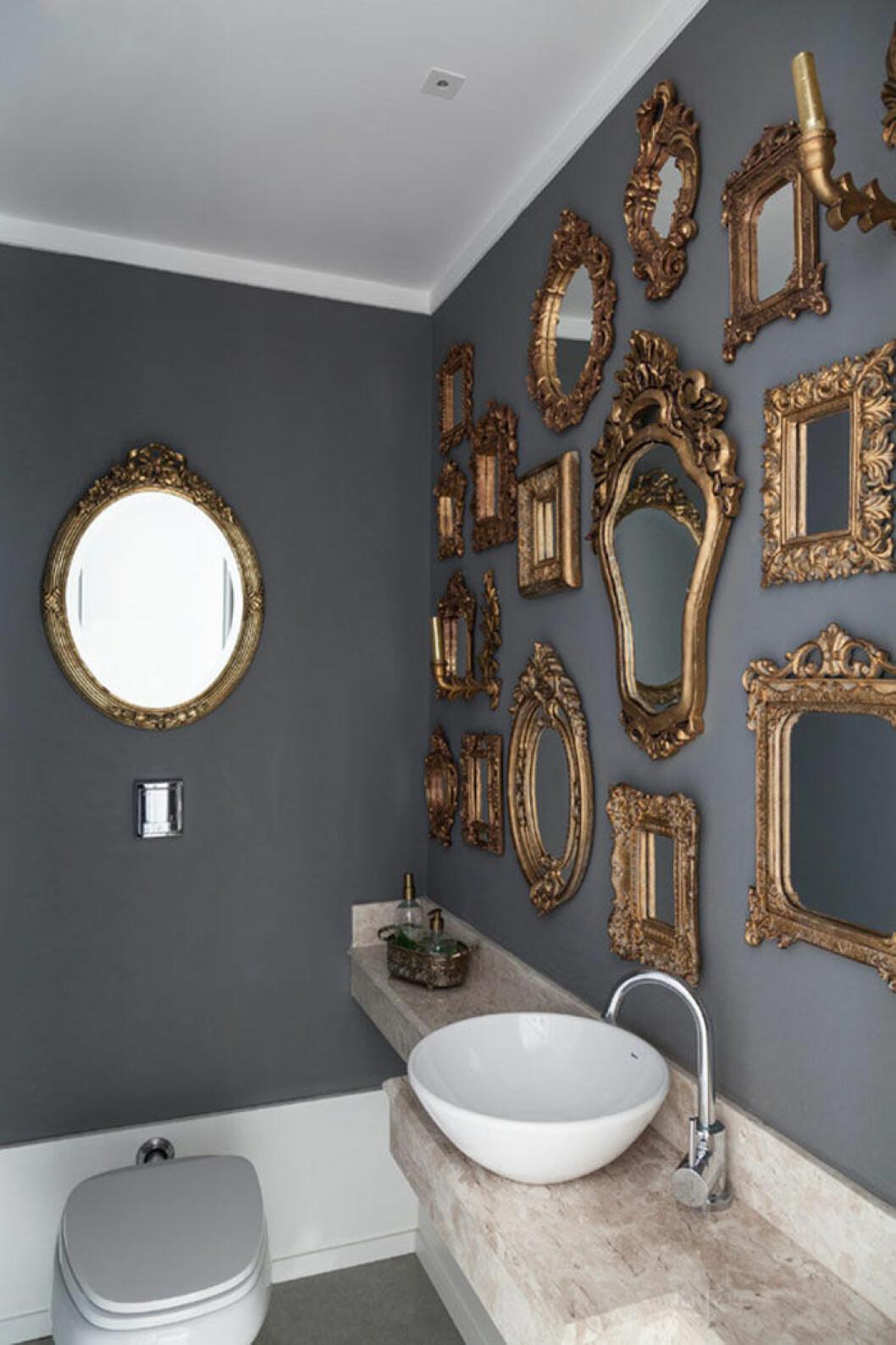 Guldiga speglar