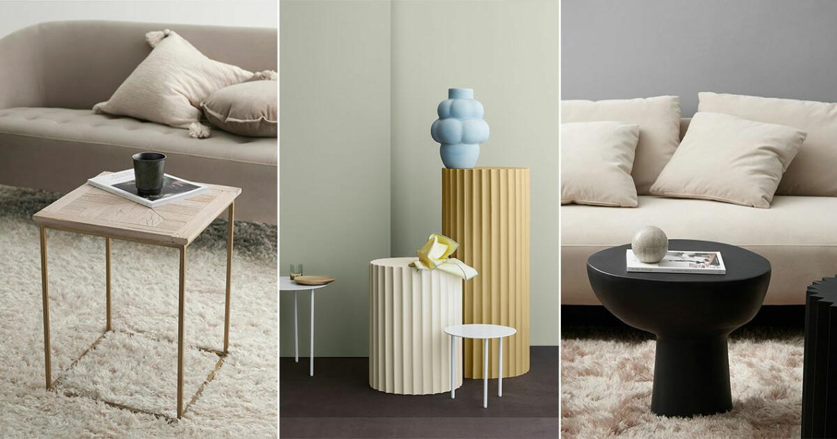 Inred med Små soffbord – 14 trendiga shoppingtips