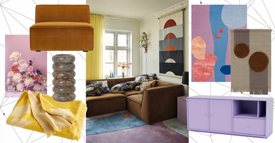 Så skapar du stilen i hemmet: Färgstark maximalism