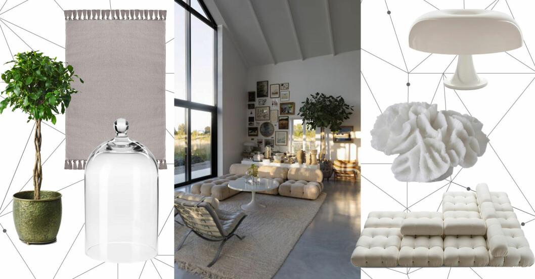 Så skapar du ett kreativt och tidlöst vardagsrum – 6 tips