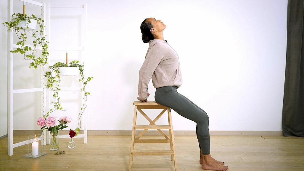 Yoga med Johanna –bröstöppnare
