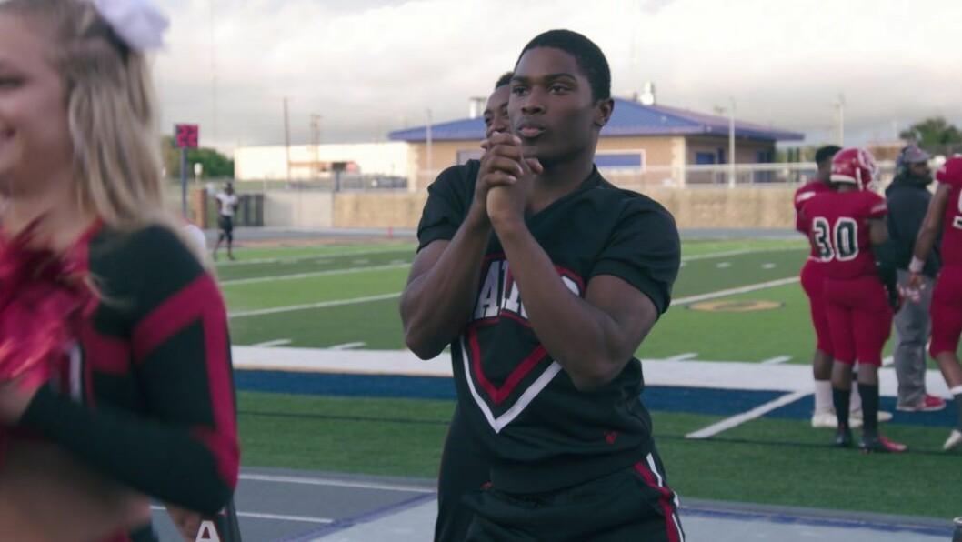 La'Darius i Cheer på Netflix