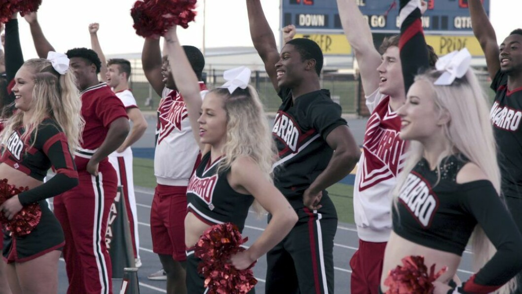 Navarro cheerleaders på Netflix