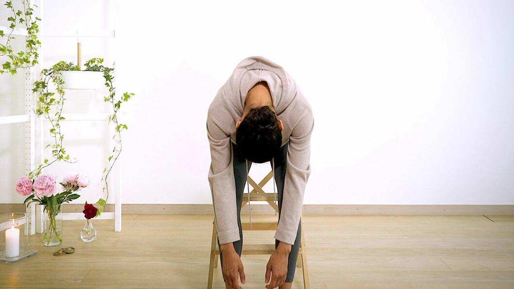 Yoga med Johanna – framåtböj