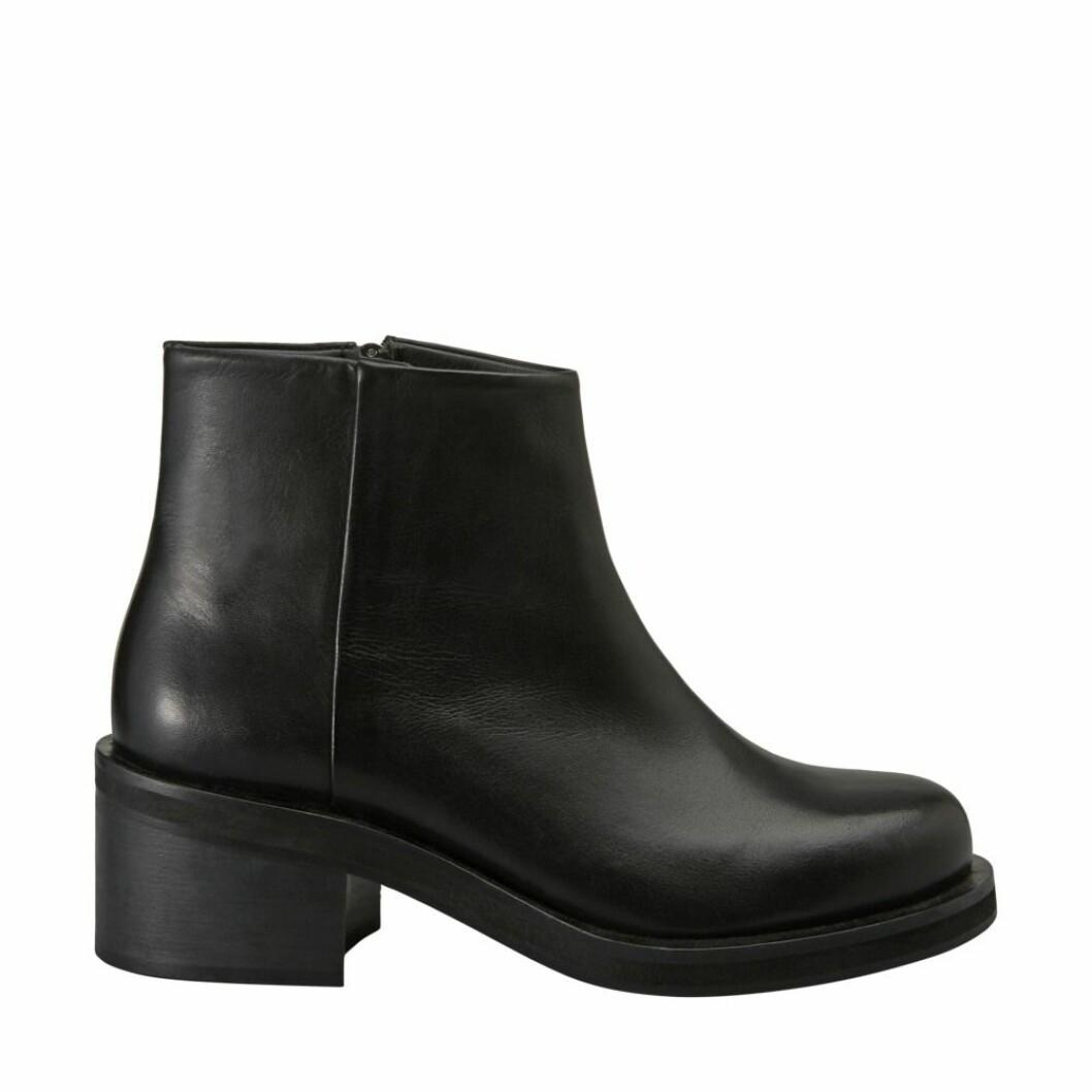 Svarta boots med klack från Minimarket.