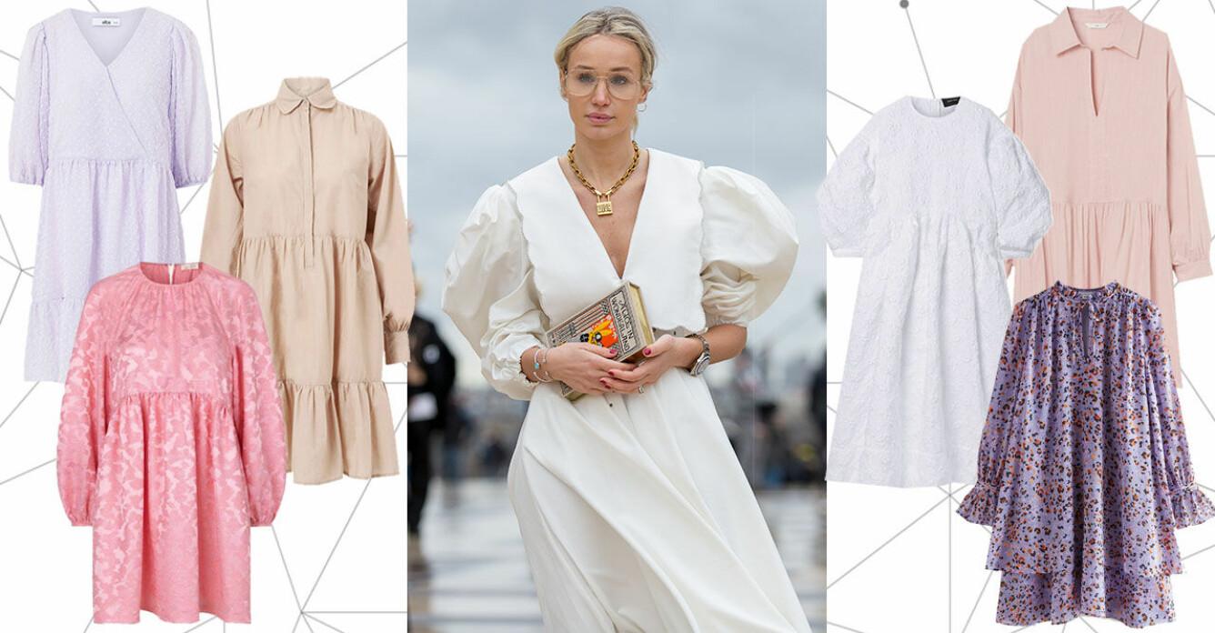 A-linjeformade klänningar