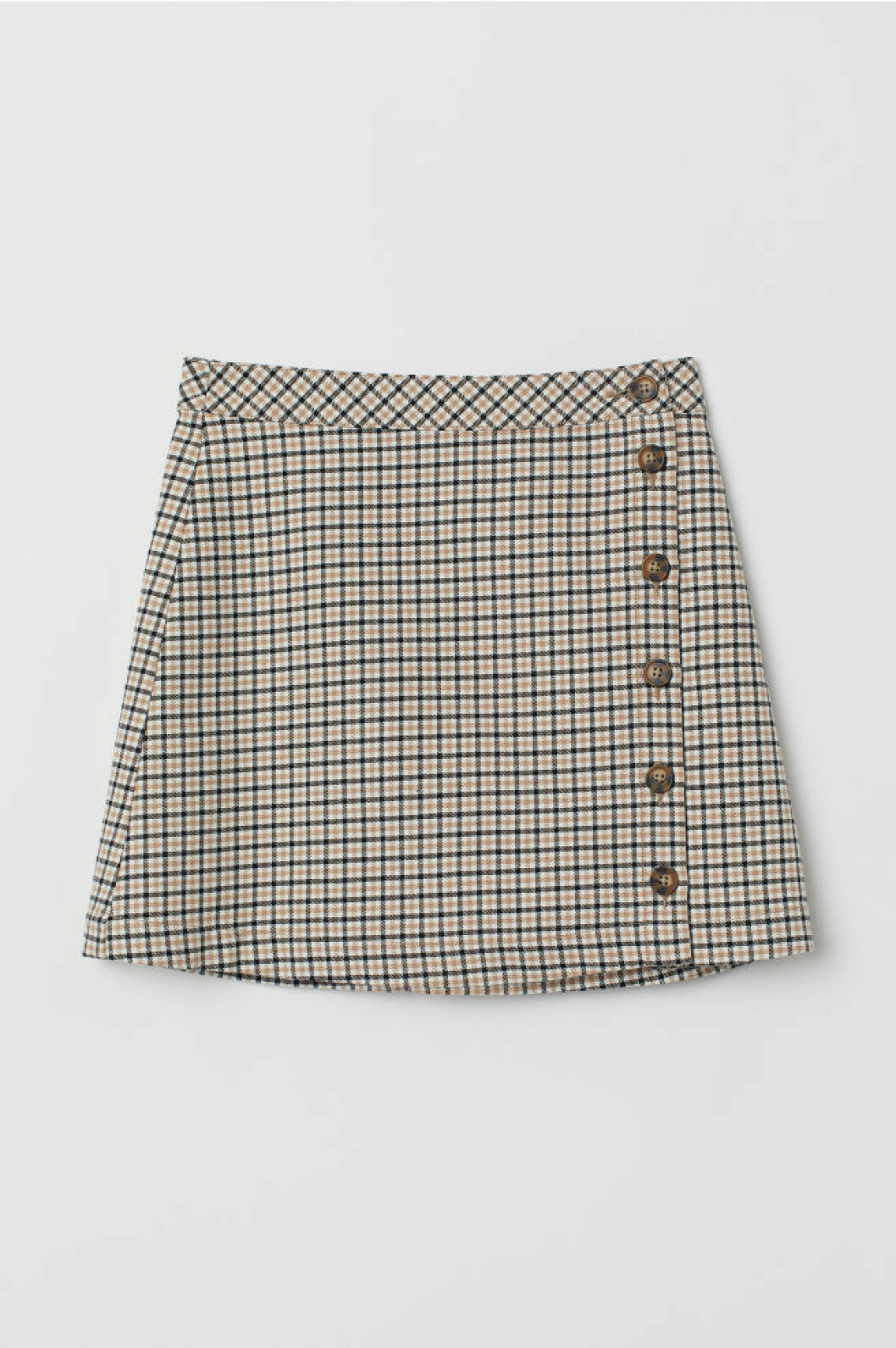 Rutig kjol från H&M