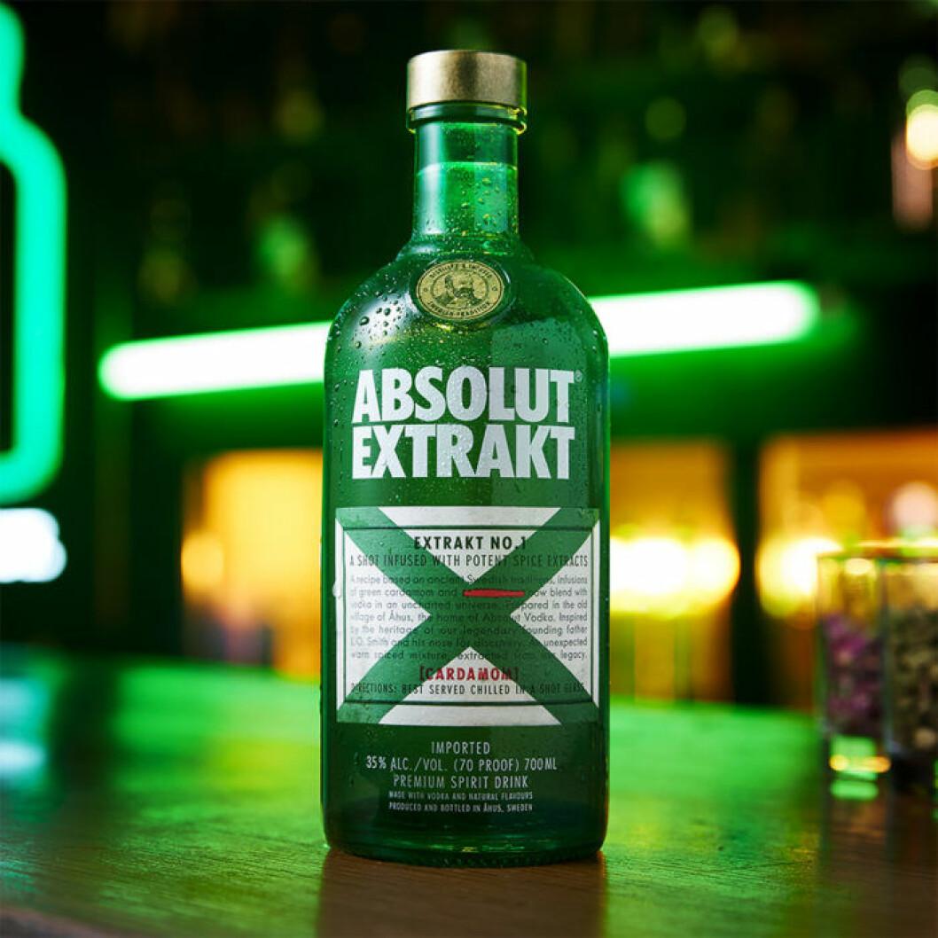Absolut Extrakt - med smak av kardemumma!