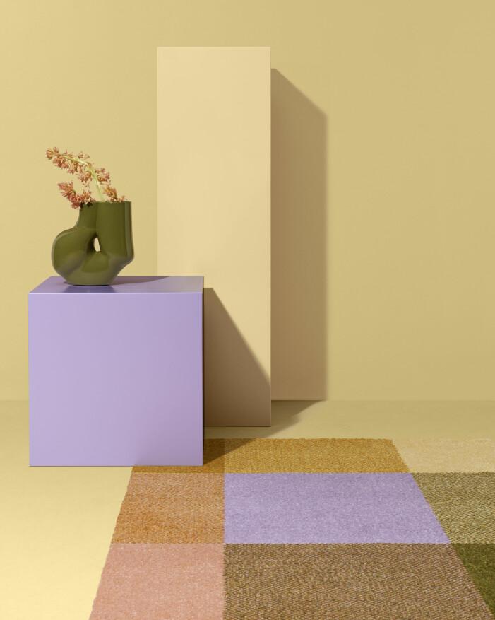 Addera pasteller i ditt hem med pastellfärgade textilier, som mattor och sängkläder