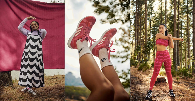marimekko x adidas släpper sin första sportkollektion 2021.