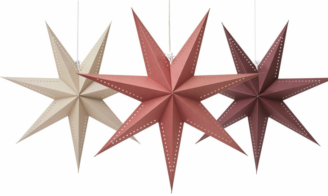 Adventsstjärnor från Åhléns