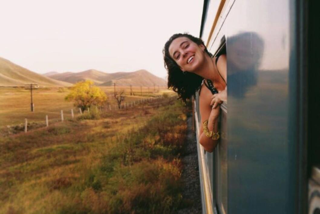 Sandra Stadelmann vill inspirera andra att våga åka långsamt.