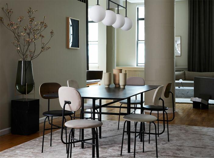 Afteroom Dining Chair Plus – matsalsstol från Menu