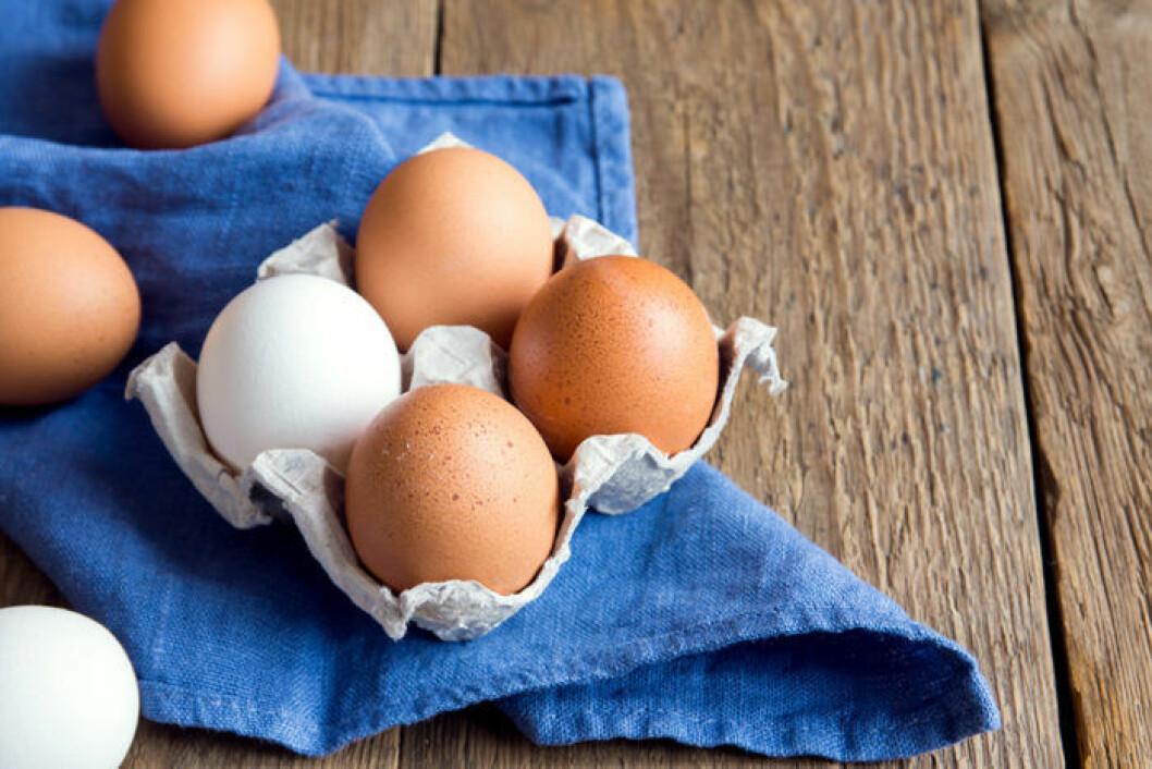 Föredrar du vita eller bruna ägg? Foto: Shutterstock