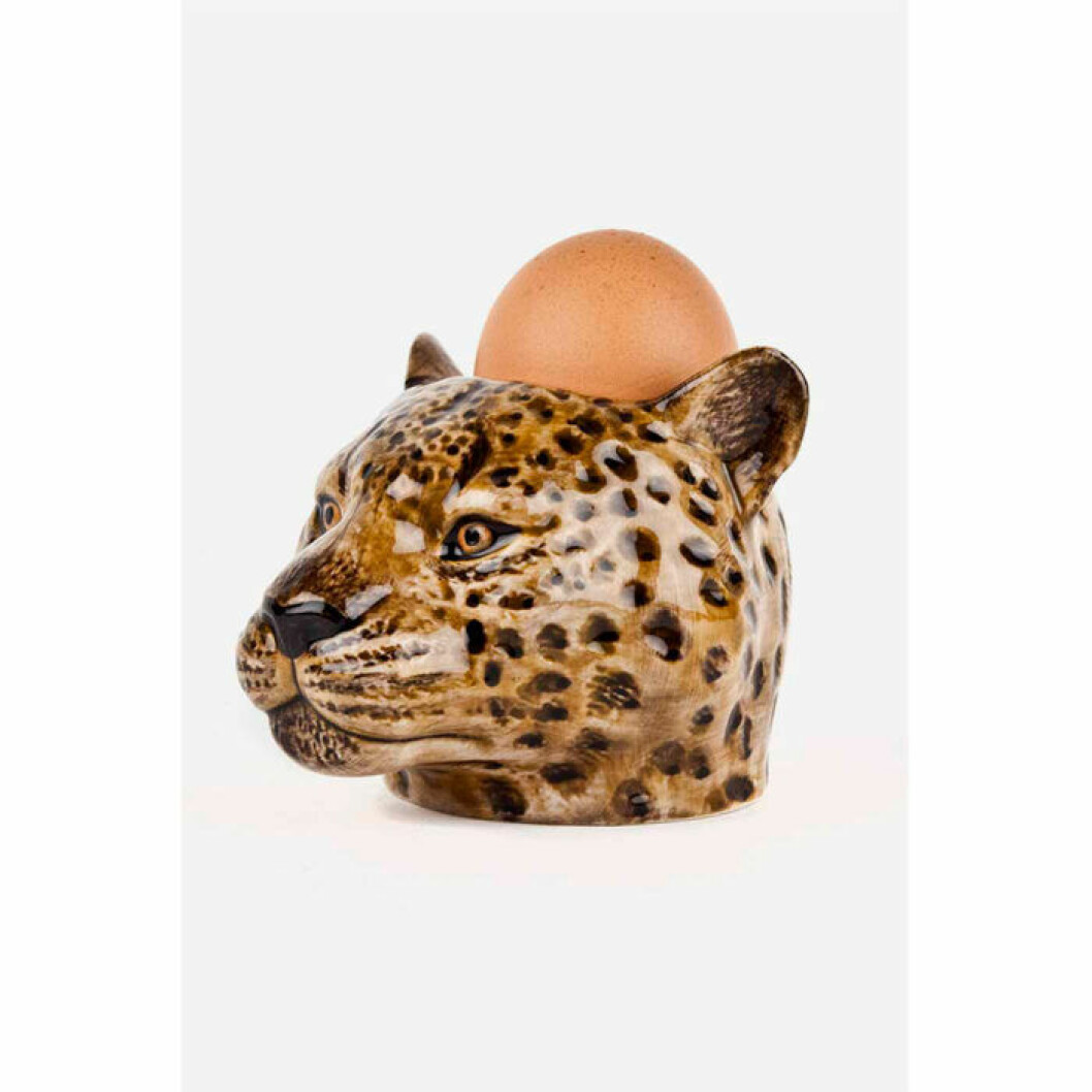 Äggkopp med leopard