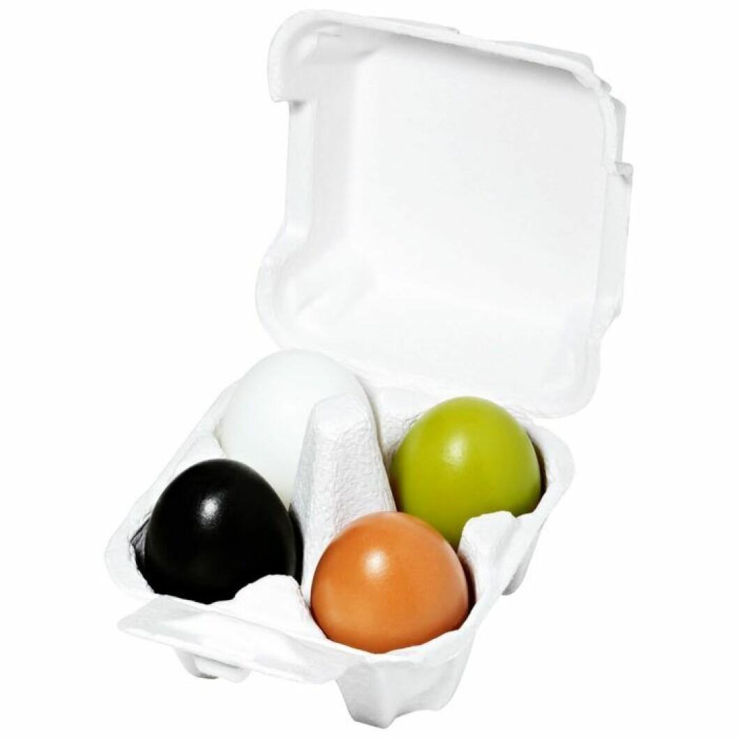 Äggpaket med tvålar från Holika