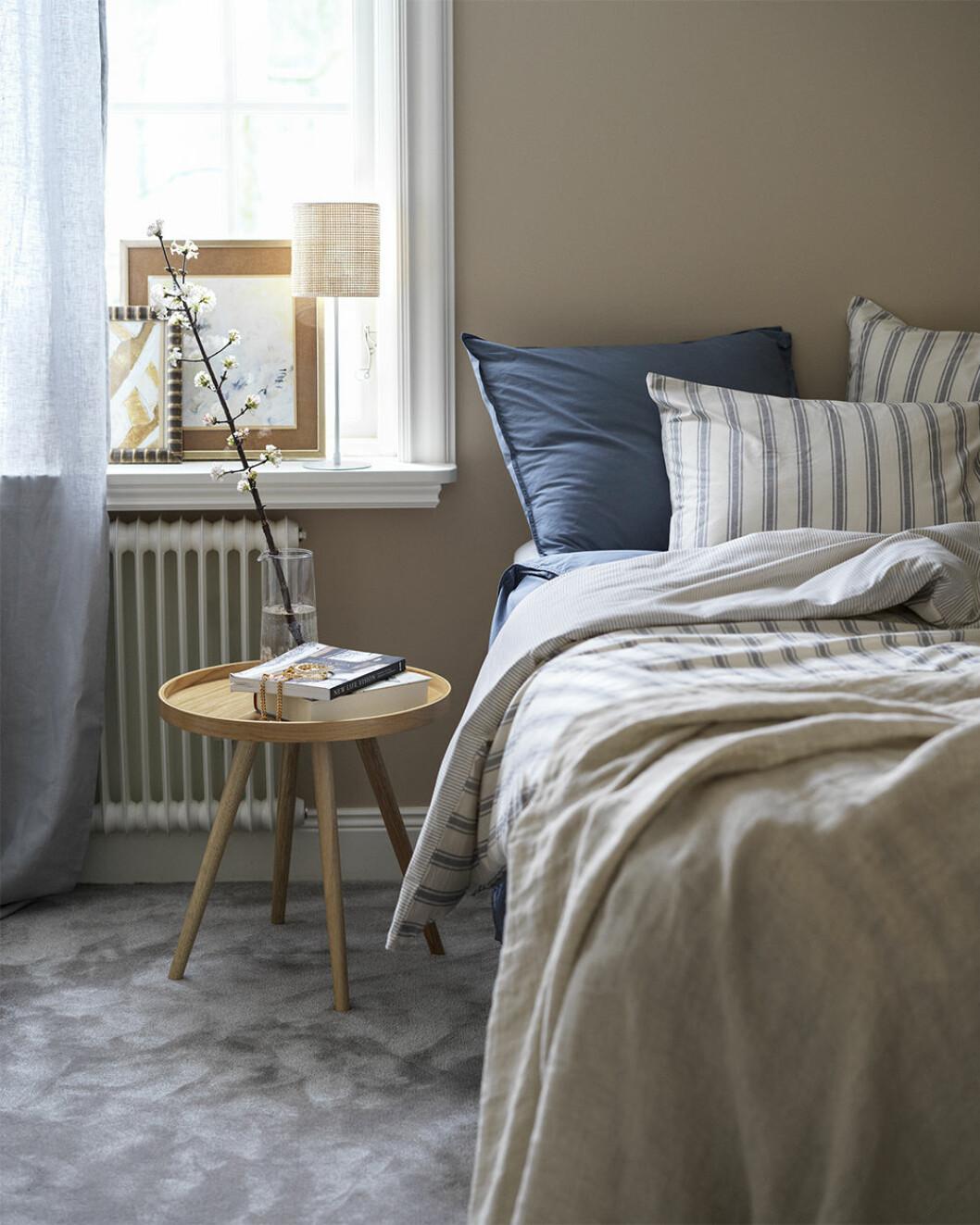 Blå sängkläder från åhléns