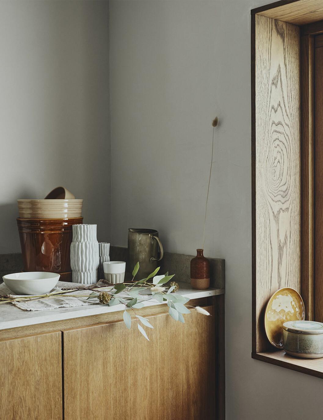Vaser och krukor från Åhléns hösten 2020