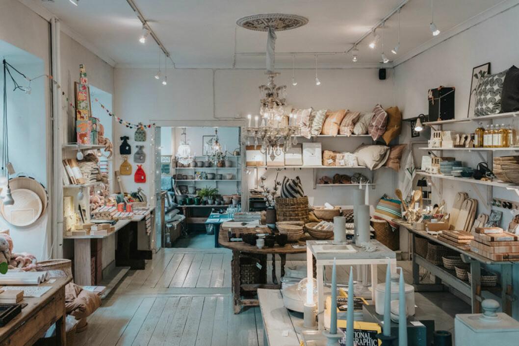 Inredningsbutiken Akantus på Visby