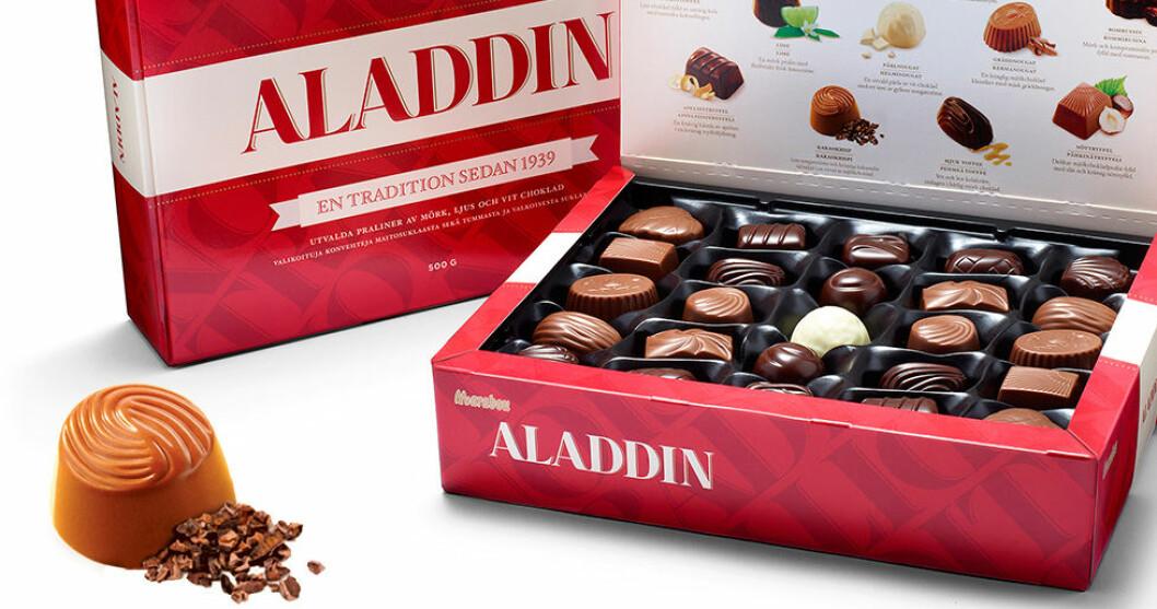 Årets nyhet i Aladdinasken!