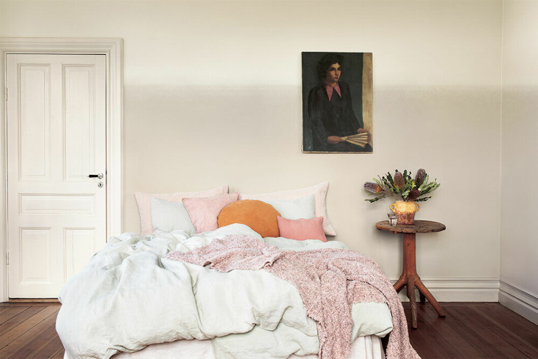 Sinnesro och Ljuvlig – två beige väggfärger från Alcro