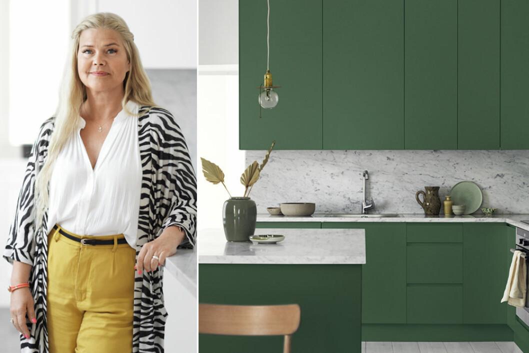 Yvonne Karlsson, färgexpert på Alcro