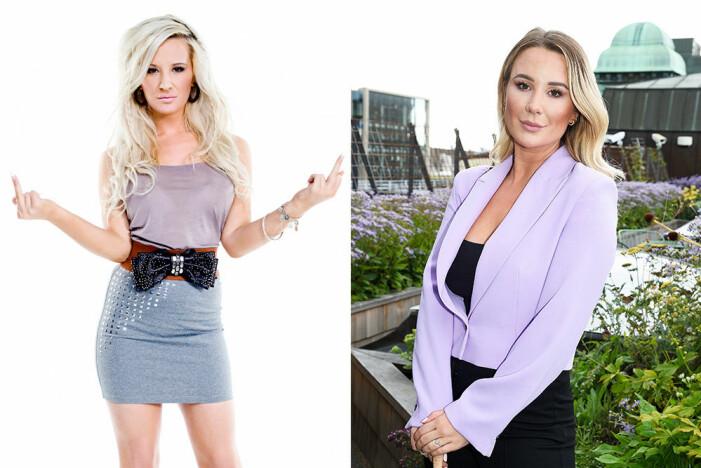 Alexandra Nilsson då och nu