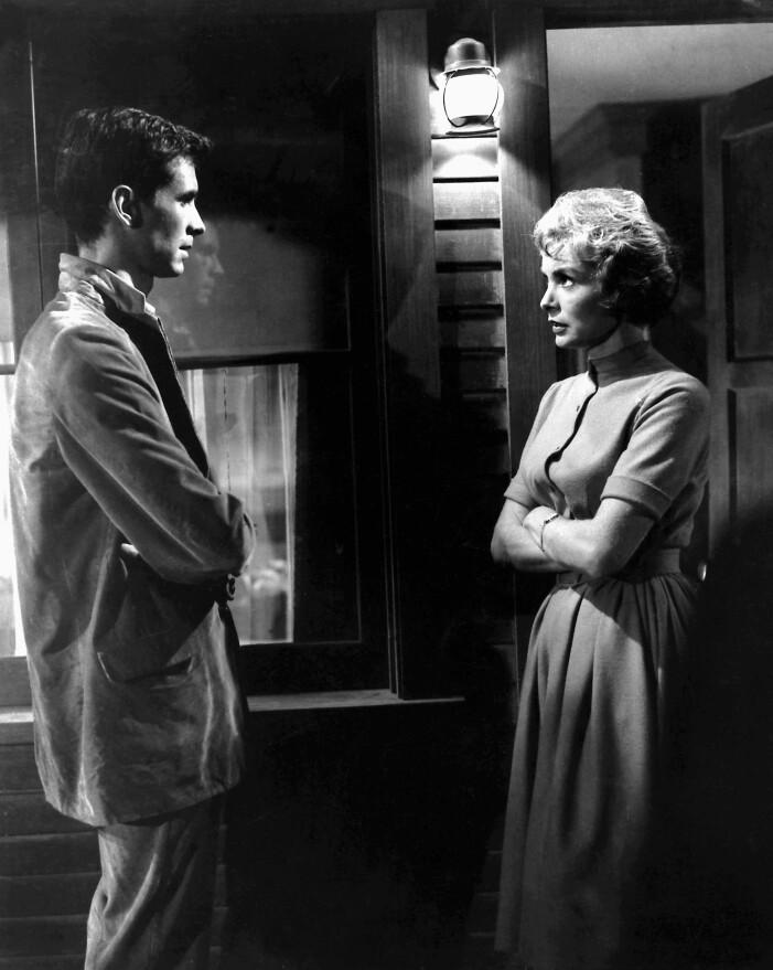 Alfred Hitchkocks skräckfilmsklassiker Psycho från 1960