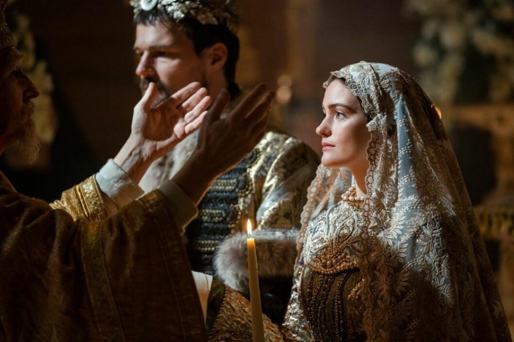 Alicia Agneson i Vikings på HBO