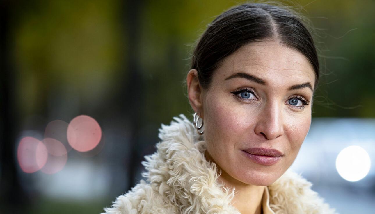 Alida Morberg ångrade första namnet på dottern.