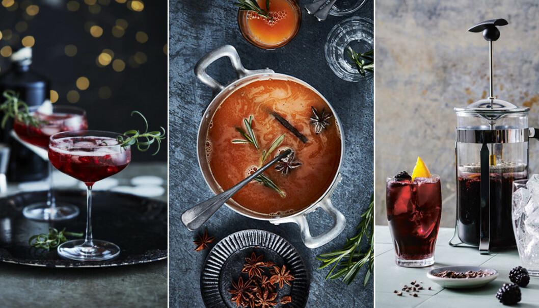 Recept på alkoholfria drinkar och alkoholfria juldrinkar