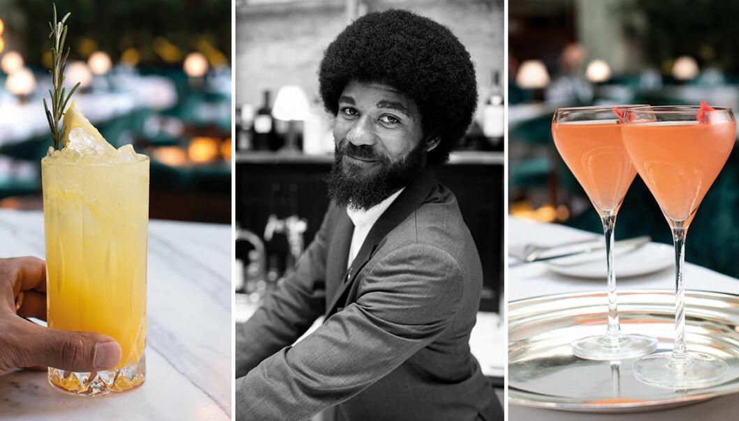 Curt Eriksson är bartender på Bank Hotel.