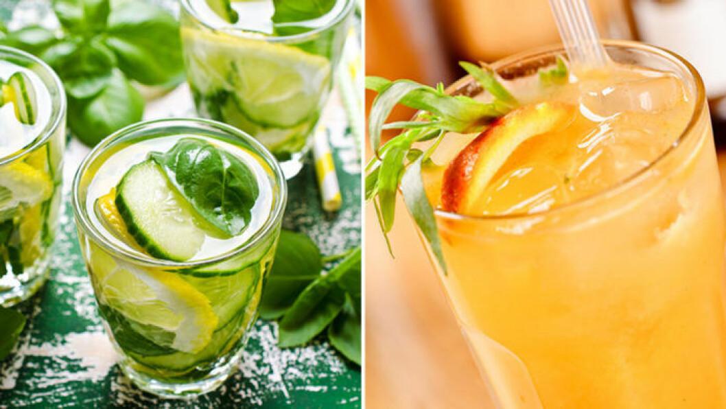Blanda alkoholfria drinkar! Foto: IBL
