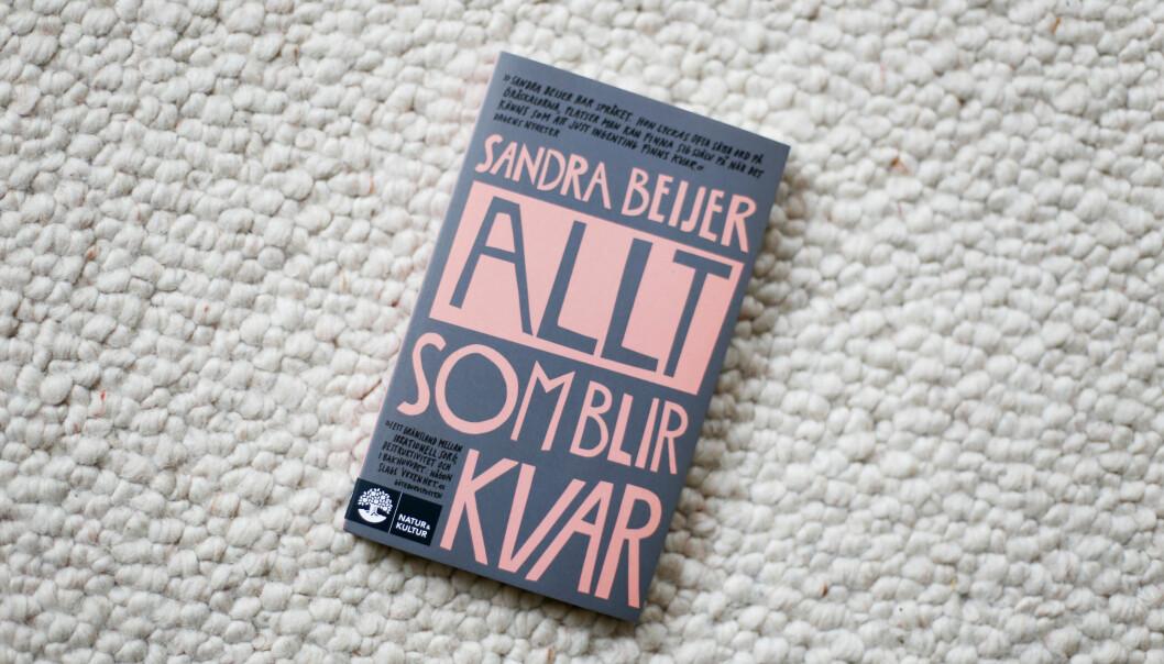 Sandre Beijers bok Allt som blir kvar