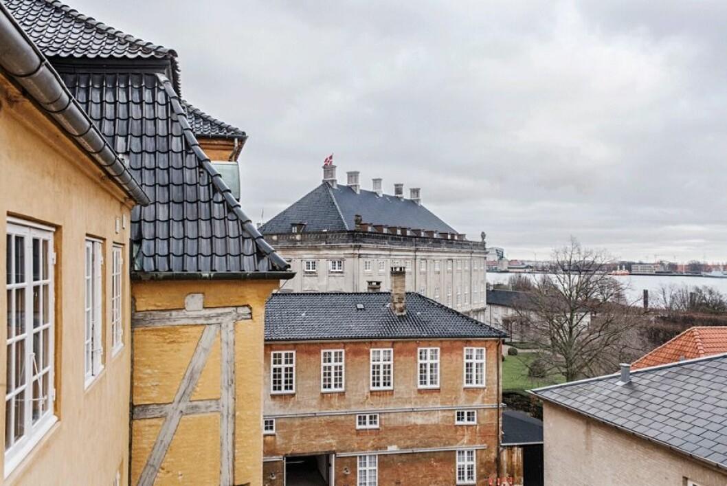 Hustak i Köpenhamn