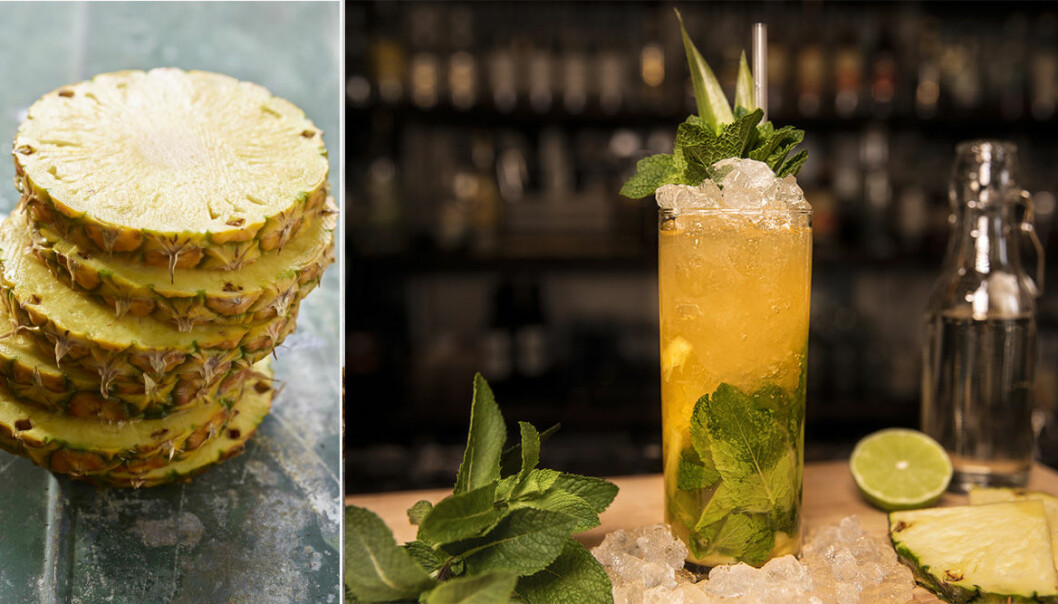 ananasmojito drinkrecept