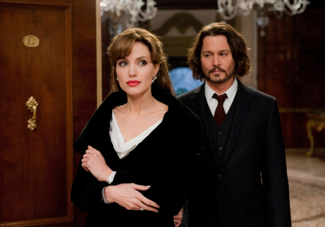 Depp och Jolie i The Tourist
