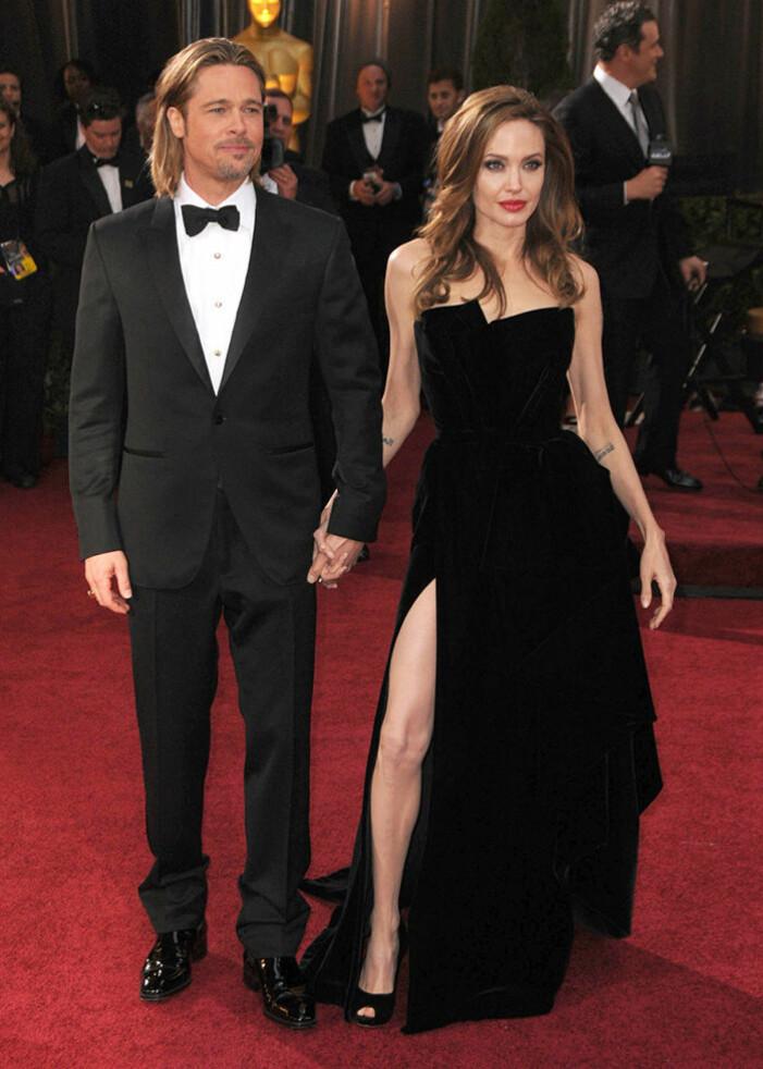 Angelina Jolie och Brad Pitt