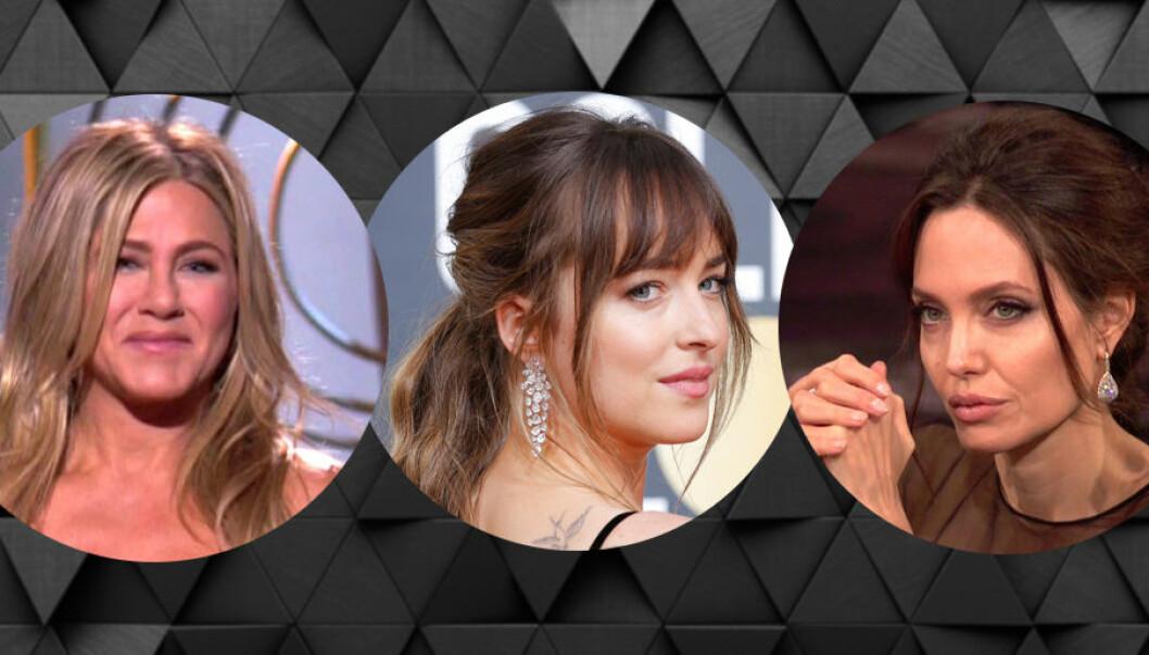 Angelina Jolie ignorerade Jennifer Aniston på Golden Globe 2018