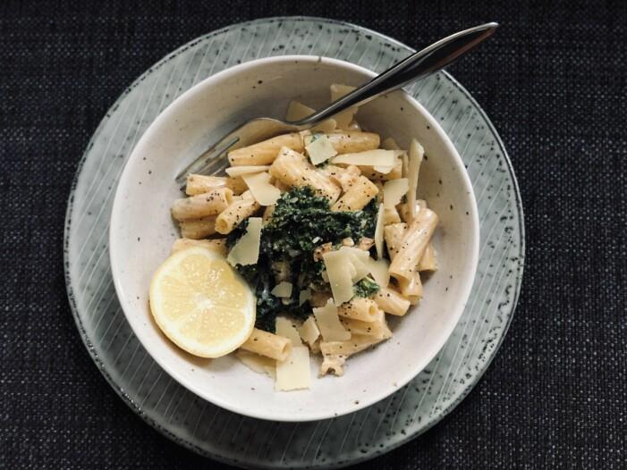 Anja Fosnor Wärn pasta grönkål