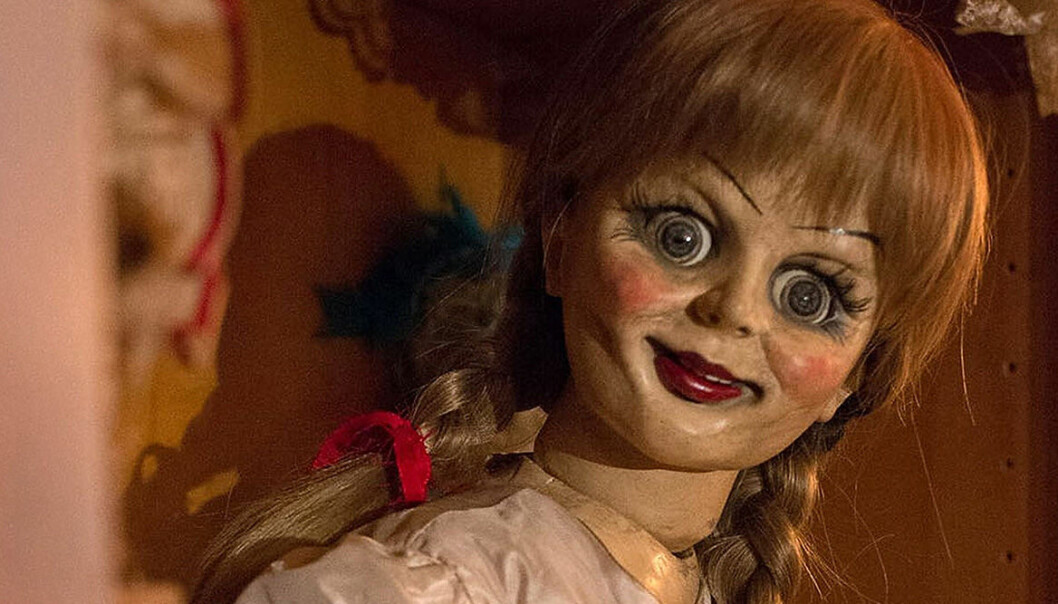 Annabelle i nya skräckfilmen Annabelle Comes Home.