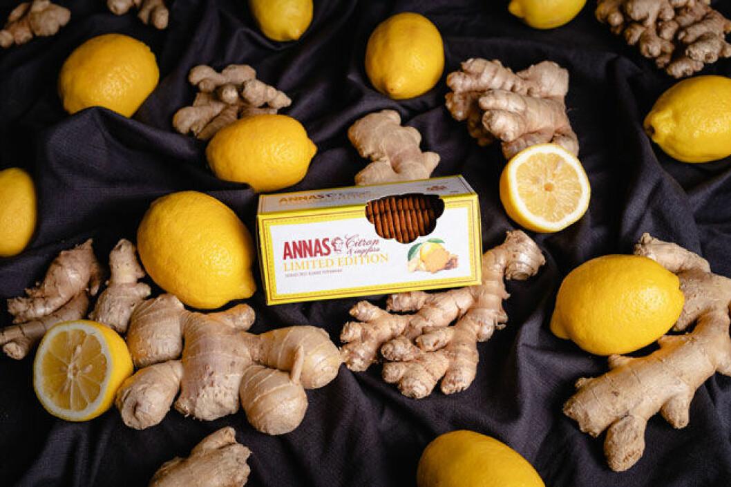 Annas pepparkakor med citron och ingefära.
