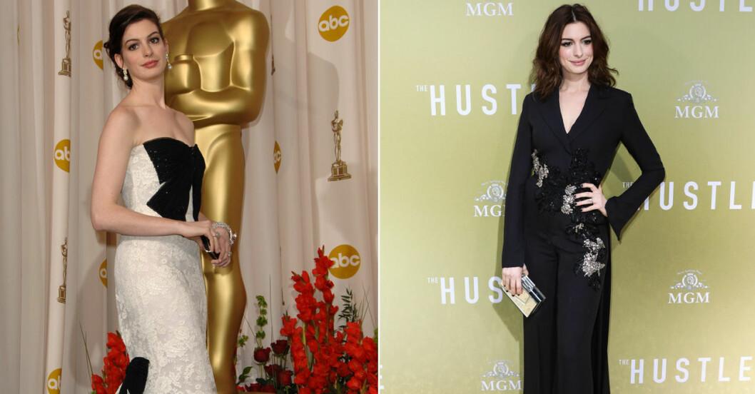 Anne Hathaway på röda mattan